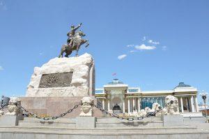 Mongolian Statue