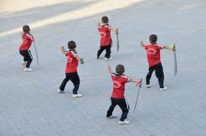 Shaolin-kids-training