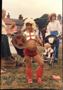 Tony as He Man